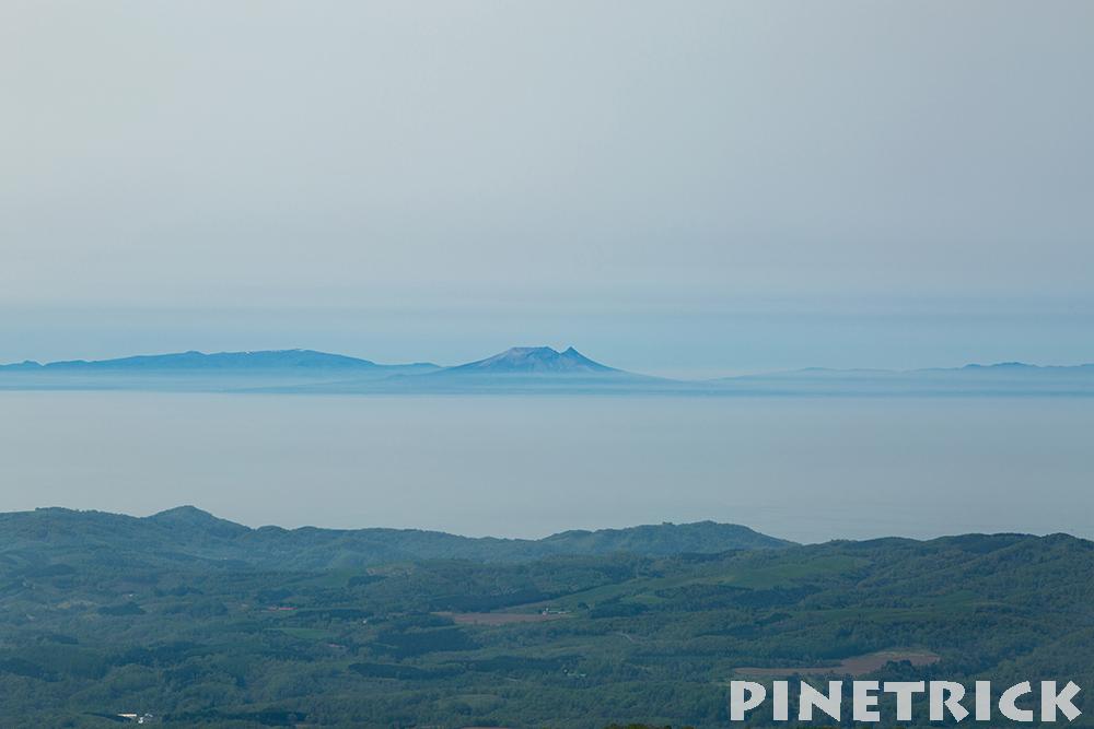 駒ヶ岳まで見えた。