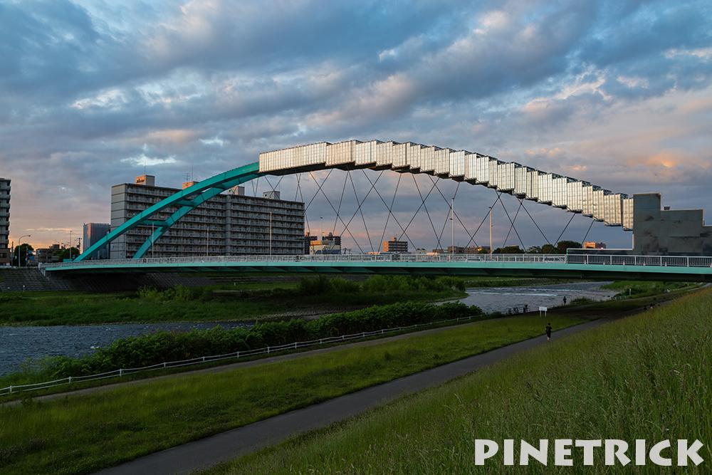 水穂大橋 札幌市 豊平川 2016年6月22日撮影