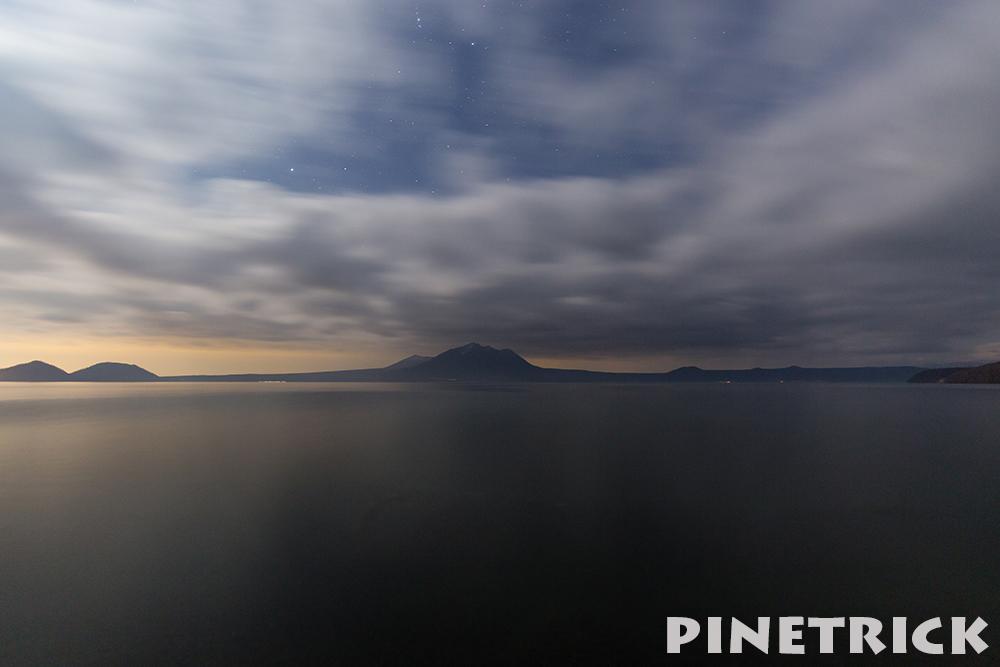 支笏湖 夜景