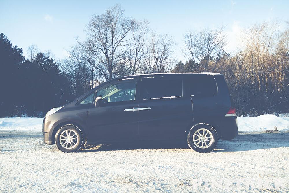 車中泊 厳冬期 快適