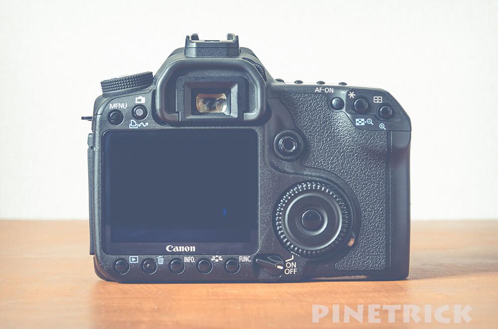 Canon EOS 50D ボディ 背面