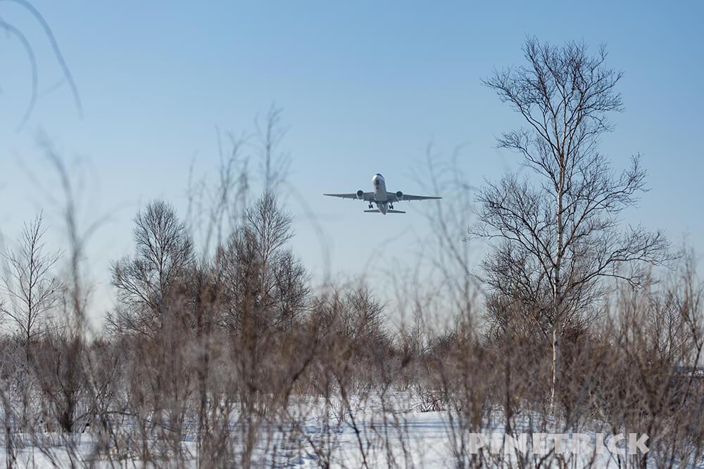 新千歳空港 飛行機 撮影