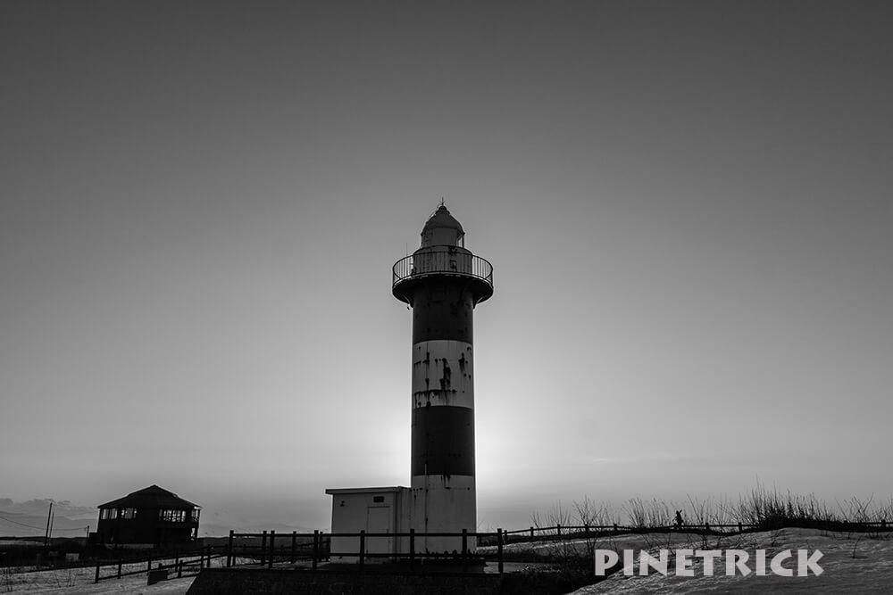 札幌市 石狩浜 石狩灯台 はまなす公園