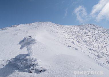 岩内岳 岩内町 山スキー
