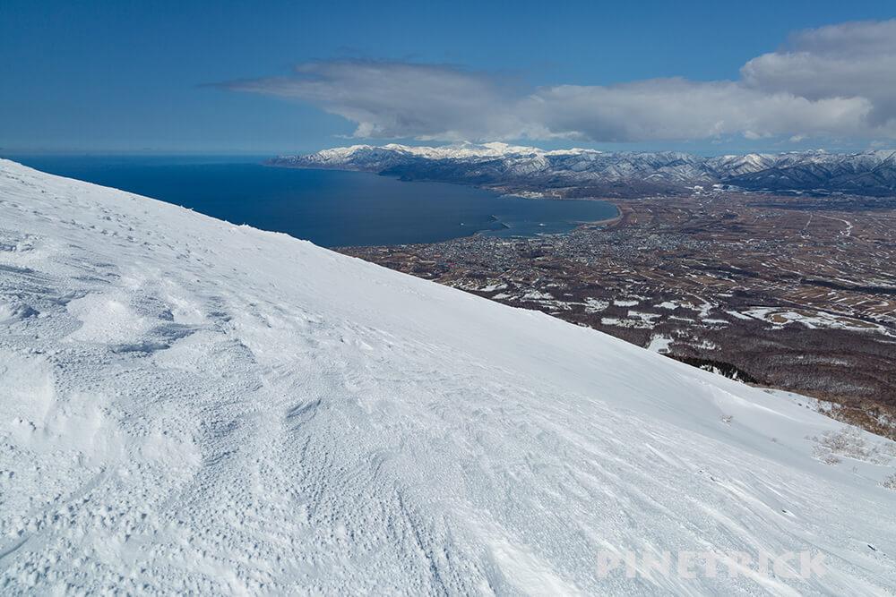 岩内岳 山スキー