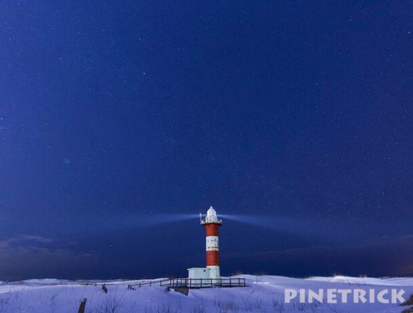 石狩灯台 タイムラプス 札幌市