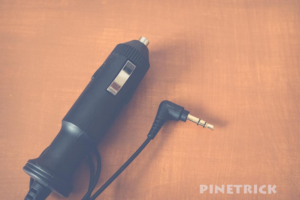 シガープラグ 3.5mmステレオミニプラグ FMトランスミッター AT-FMT200 オーディオテクニカ