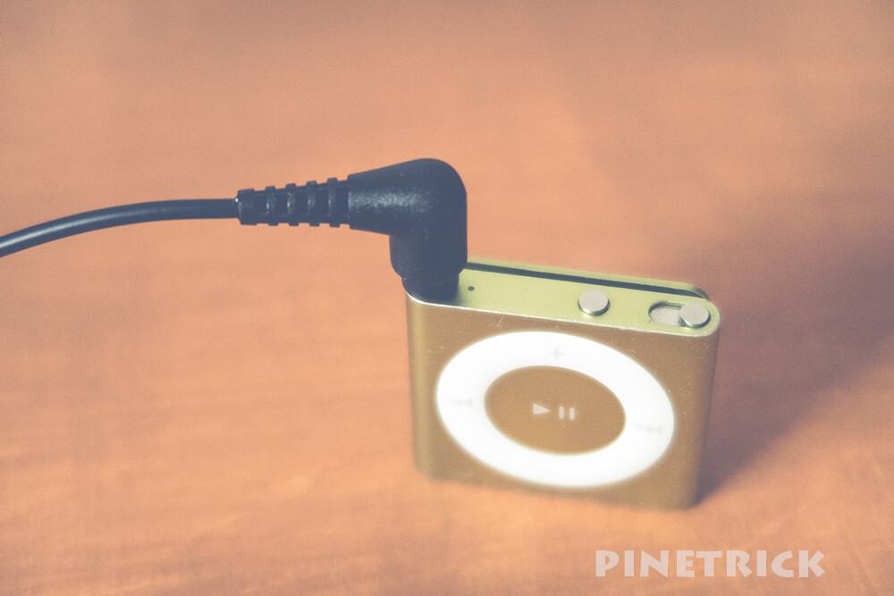 iPod shuffle FMトランスミッター オーディオテクニカ audio-technica AT-FMT200 BK