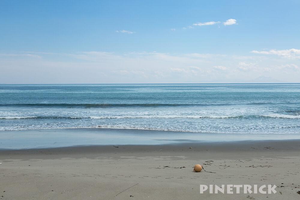 海 浮玉 砂浜