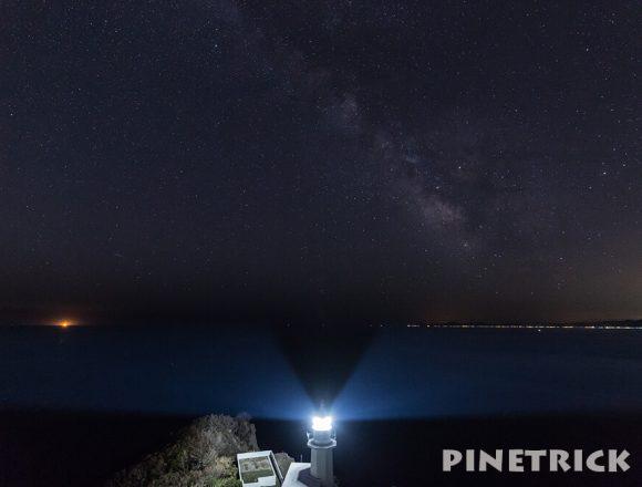 地球岬 天の川 室蘭市 室蘭八景 夜景 観光名所