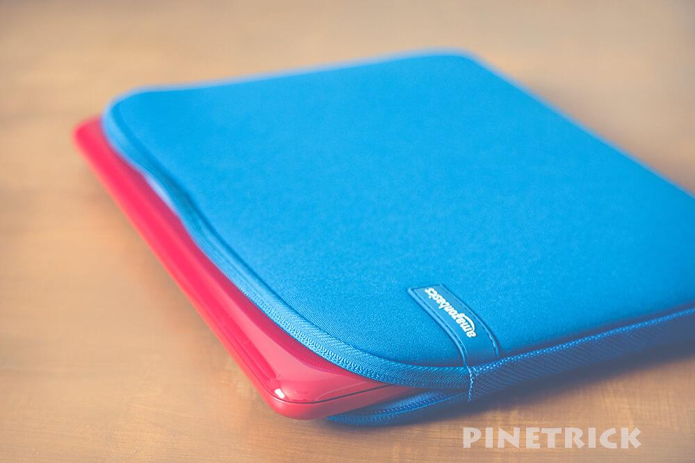 Amazonベーシック ノートパソコン ケース スリーブ 11.6インチ ブルー NC1506163F