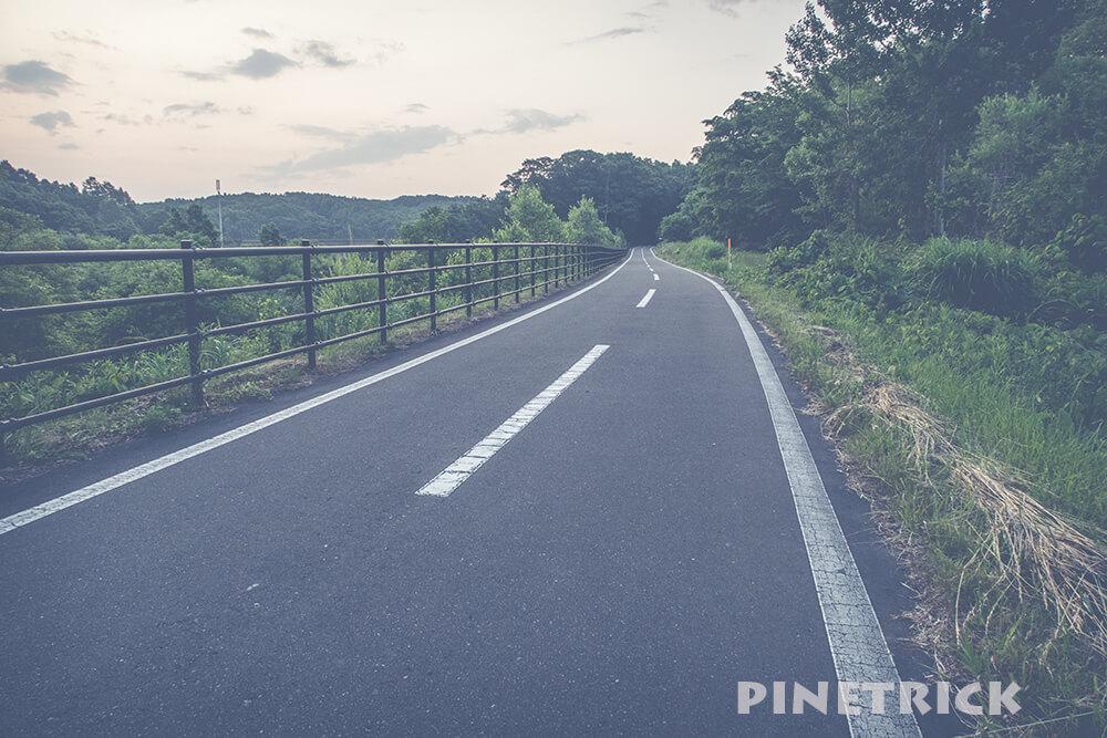 白石サイクリングロード