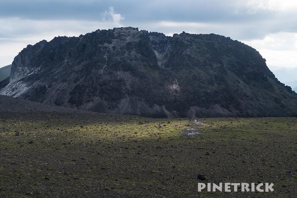 東山山頂 樽前山 溶岩ドーム