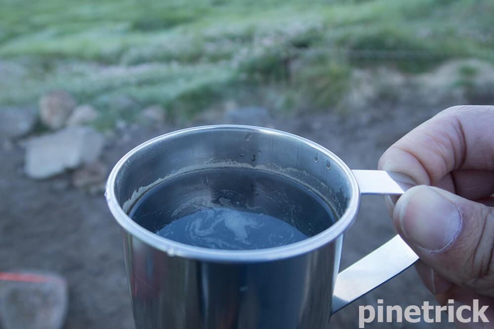 コーヒー テント