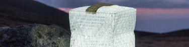 ソーラーパフ ランタン型ライト 折りたたみ 防水 軽量 テント泊