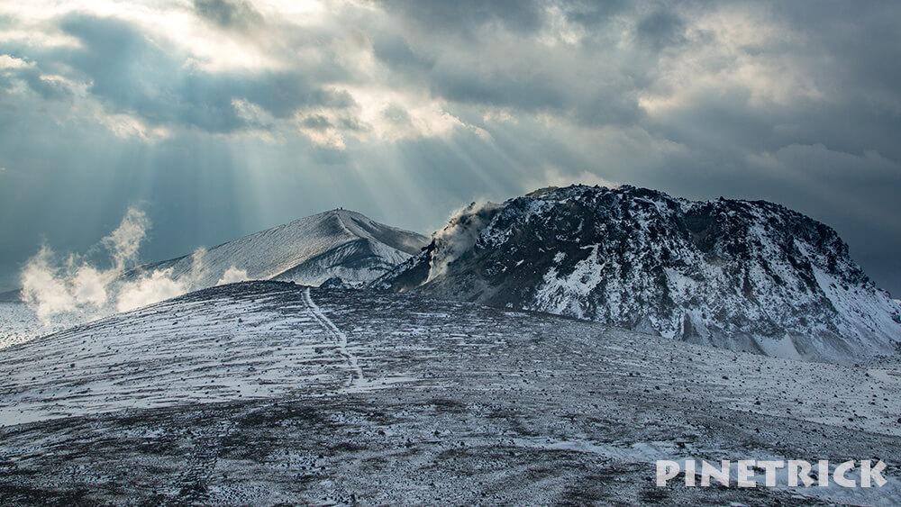 樽前山 溶岩ドーム 西山