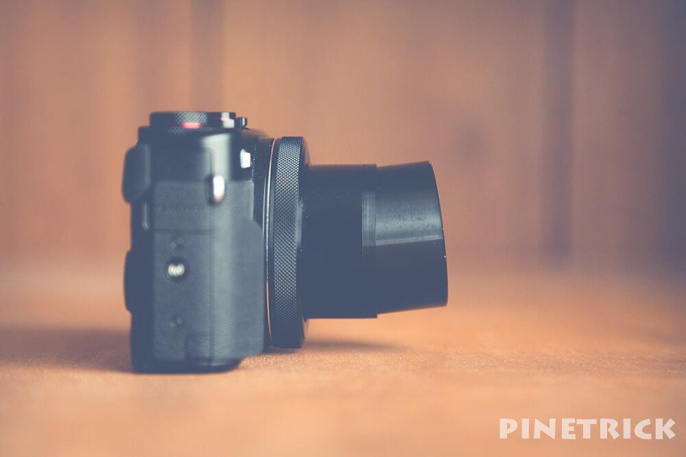 PowerShot G7 X Mark II 破損 修理費用 レンズ 鏡筒