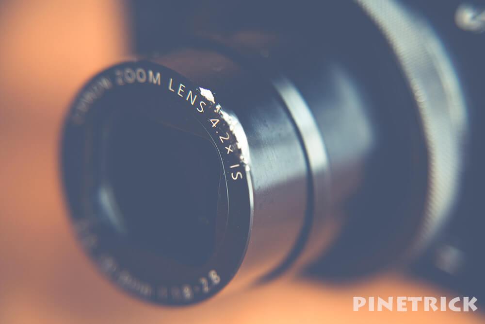 PowerShot G7 X Mark II 修理費用 レンズ 鏡筒