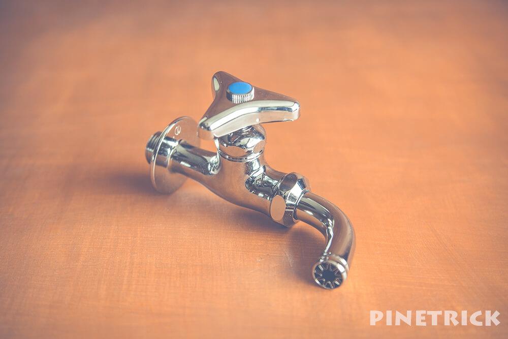 蛇口 水栓 水漏れ 修理