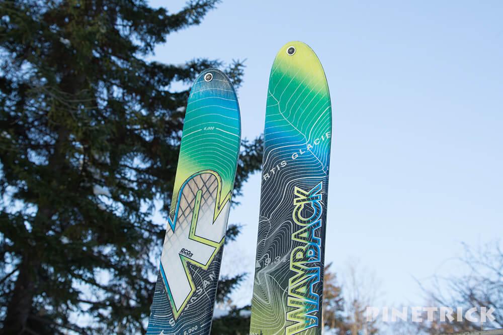 K2 WAYBACK 82 174cm 15-16 山スキー 樽前山