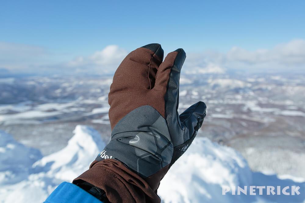 モンベル パウダートリガーフィンガーミトン 手袋 グローブ 冬 登山 雪山