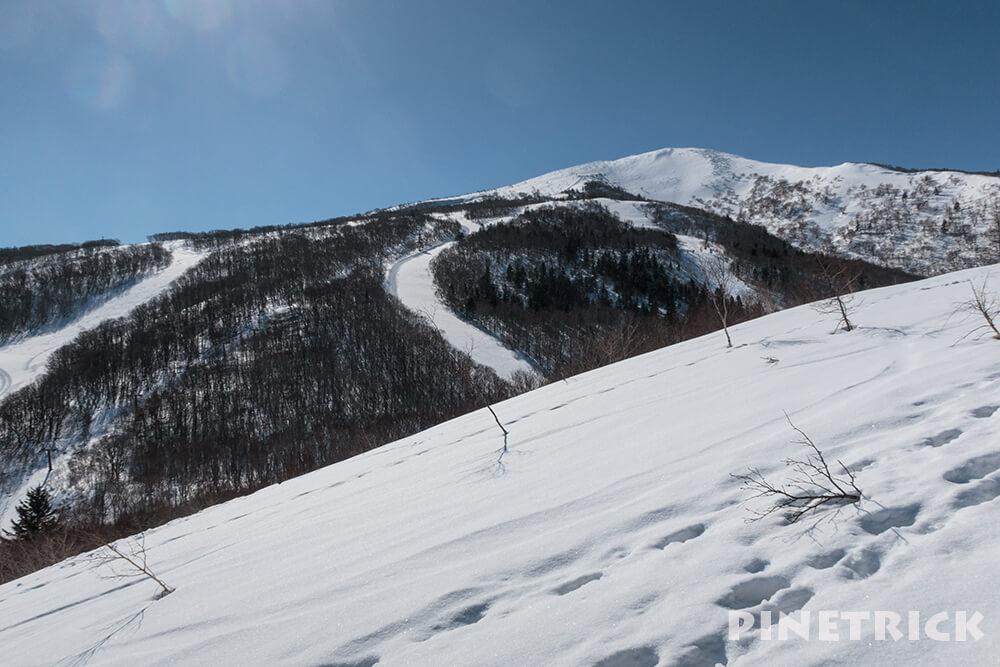 ニセコいわない国際スキー場 IWANAI RESORT 山スキー 岩内岳