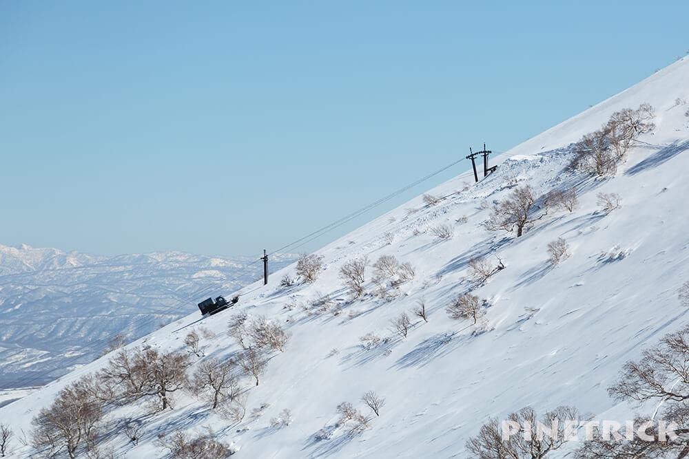 スノーキャット キャットツアー 岩内岳 IWANAI RESORT