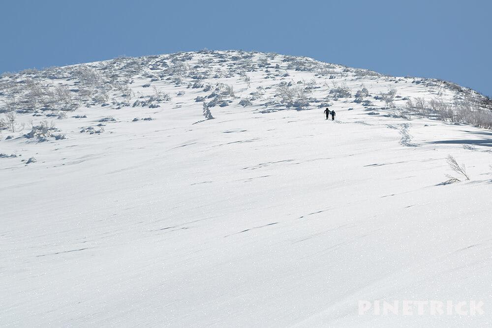 岩内岳 山スキー スノーシュー 直登