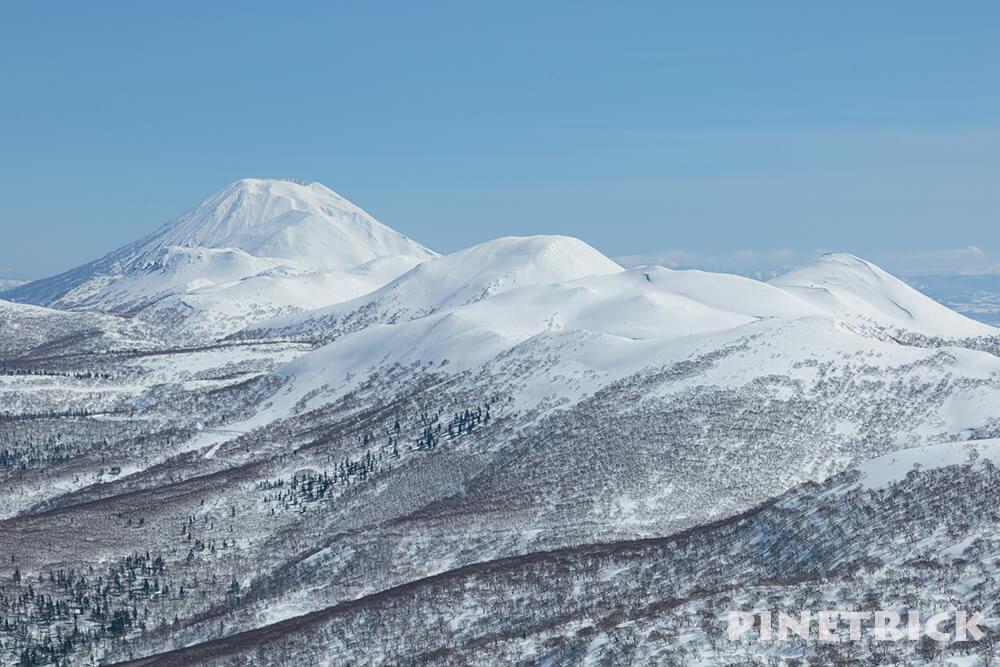 岩内岳 山スキー 羊蹄山 ニセコ連山