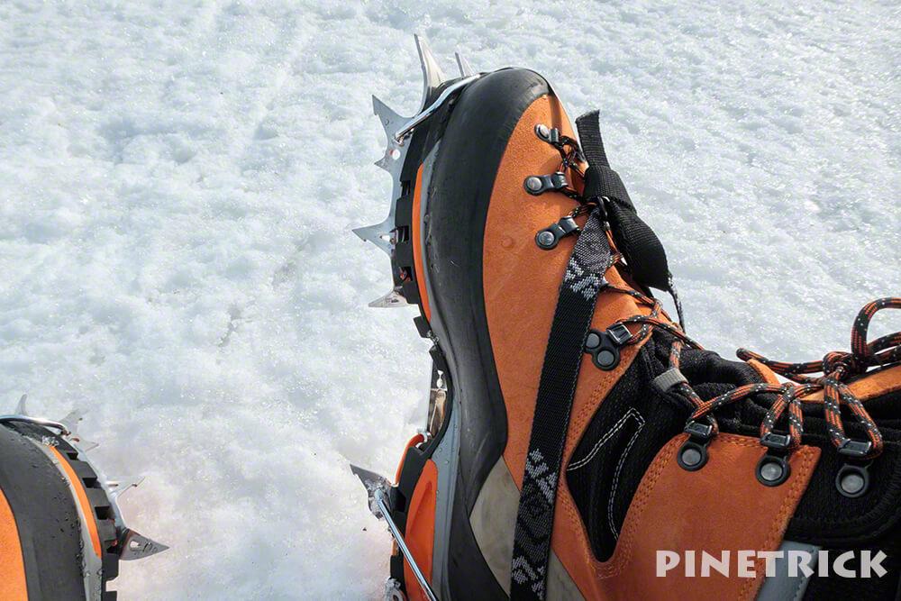 ニセコアンヌプリ アイゼン ブラックダイヤモンド BD クランポン 登山 冬山