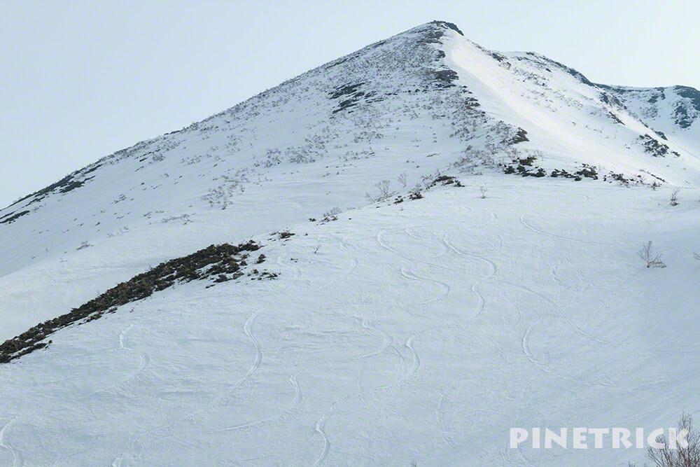 ニセコアンヌプリ 五色温泉 シュプール 山スキー ボーダー BC バックカントリー ニセコルール