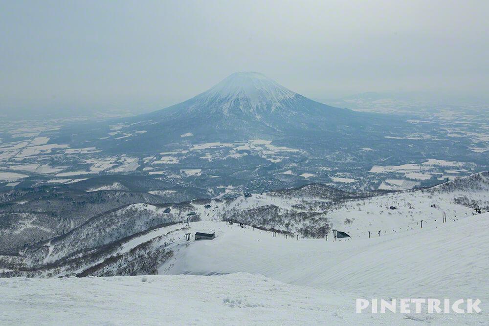 羊蹄山 ニセコアンヌプリ スキー場 3月