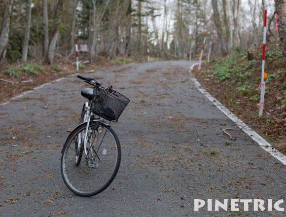 樽前山 道道141号線 樽前錦岡線 冬季通行止め 自転車 倒木