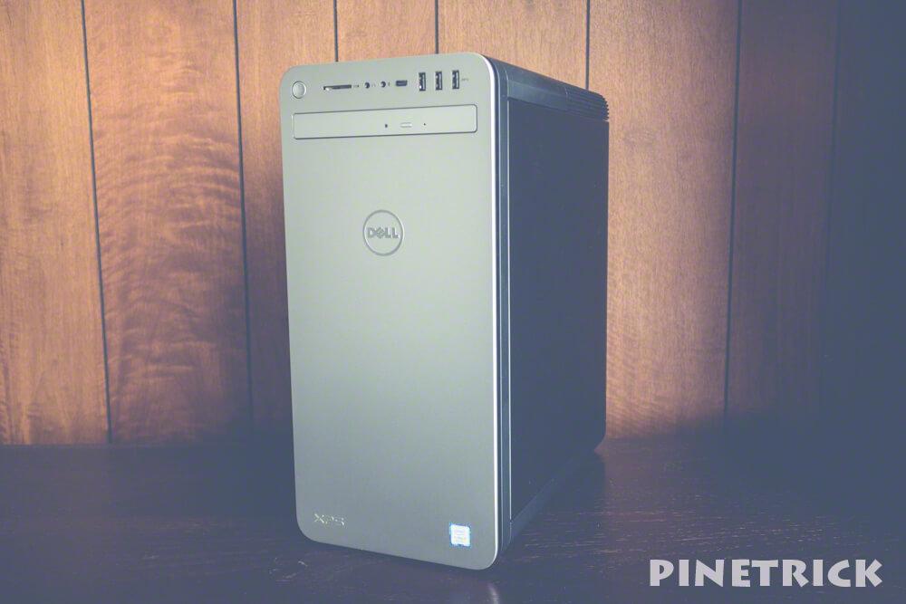 DELL XPS 8930 デスクトップ i7-8700 16GB DDR4 2666MHz NVIDIAR GeForceR GTX 1060 6GB GDDR5