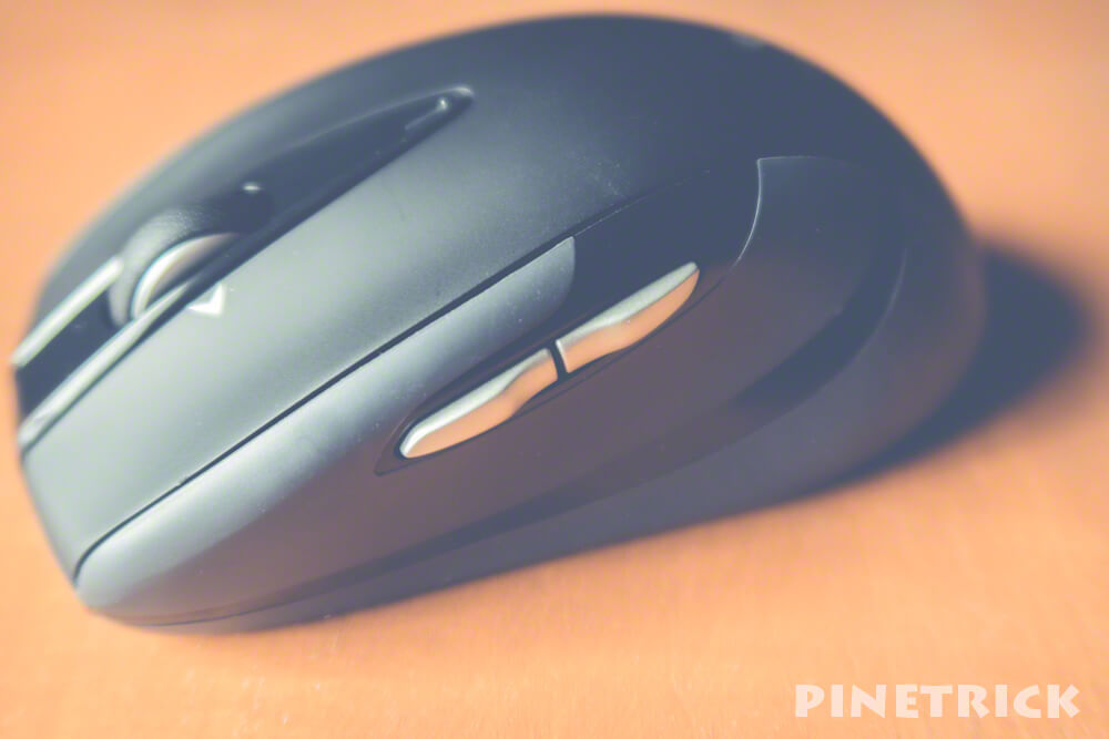 ロジクール M545BK マウス ワイヤレス 単3