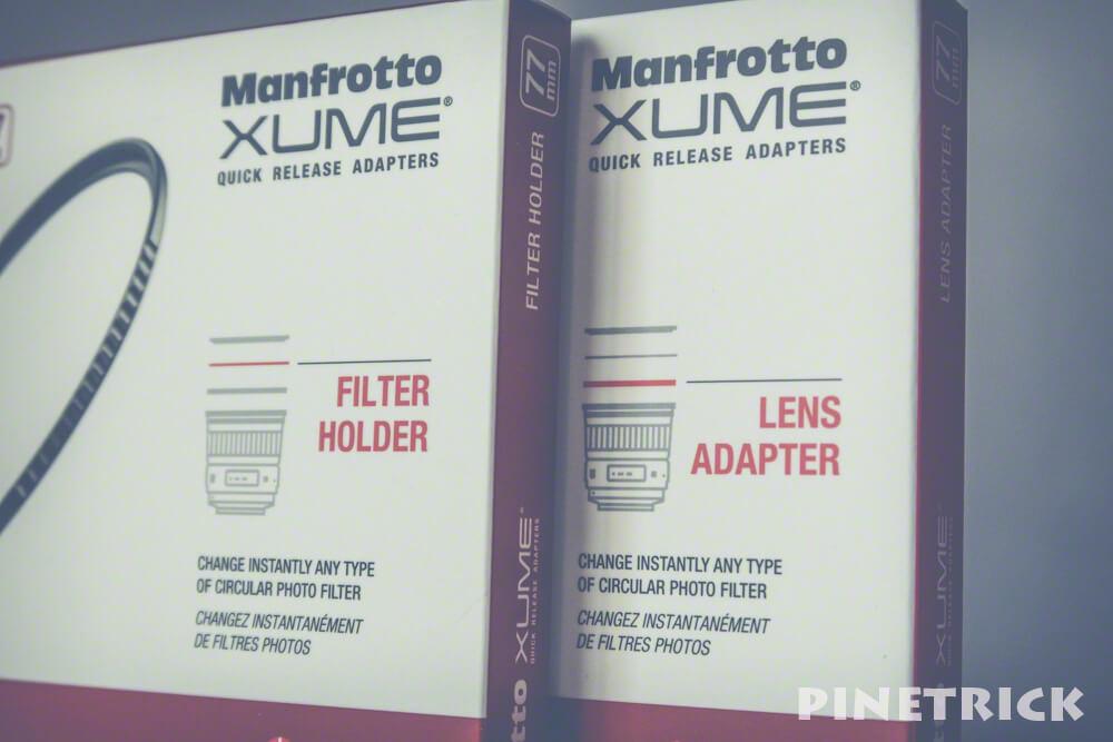 レンズ用マグネットベース フィルター用フレーム マンフロット xume マグネット