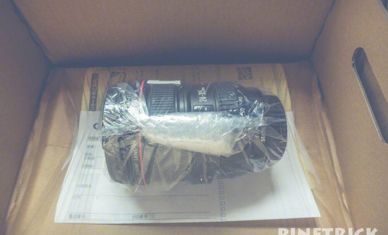 キヤノン あんしんメンテ 修理 レンズ ボディ EF24-105 eos 5dmk3