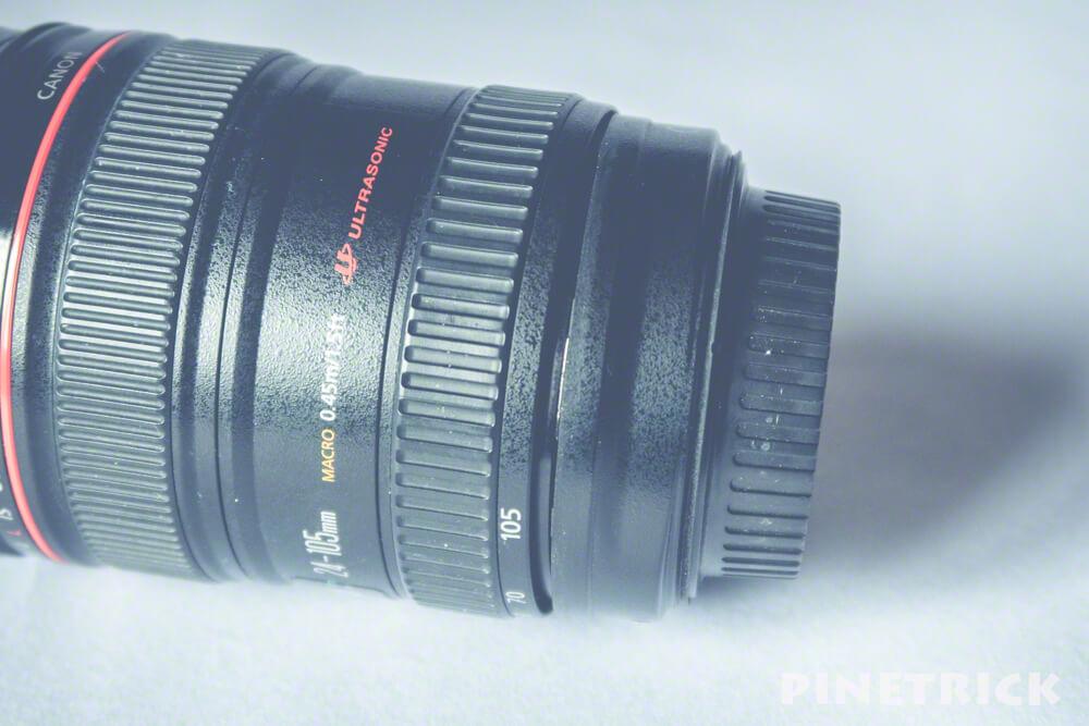 キヤノン あんせんメンテ EF24-105 レンズ 修理