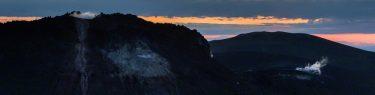 樽前山 ご来光 溶岩ドーム 東山 登山