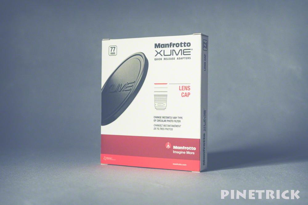 Xume マグネットレンズキャップ 77 mm フィルター マンフロット