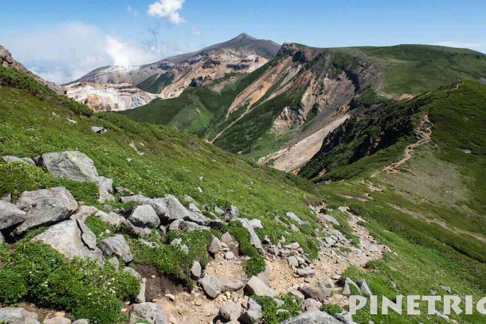 十勝岳 三峰山 登山