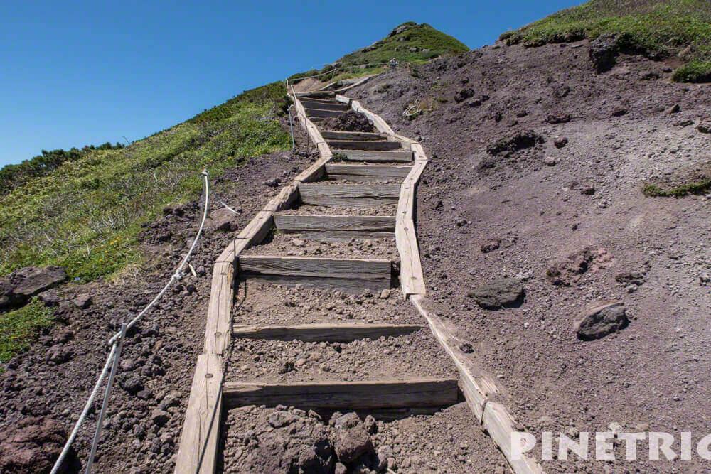 富良野岳 登山