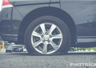 JAF タイヤ交換 パンク