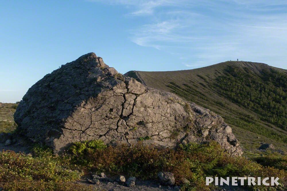 樽前山 岩石 登山 二百名山