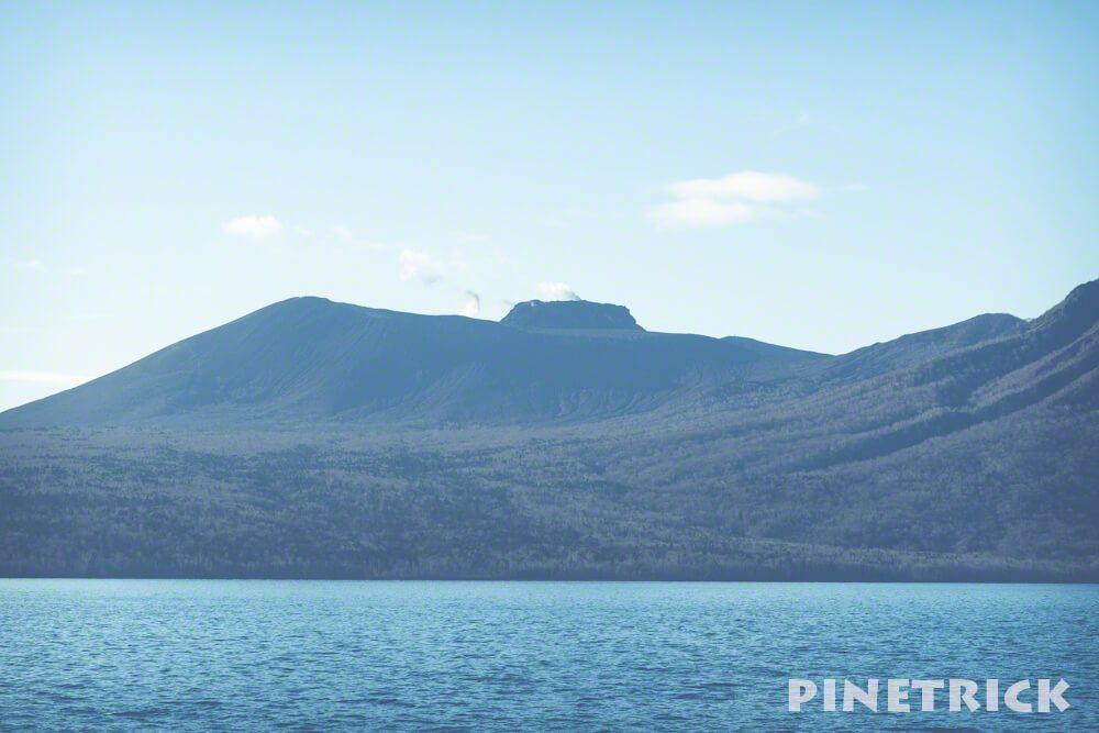 樽前山 支笏湖 噴煙 2018年11月