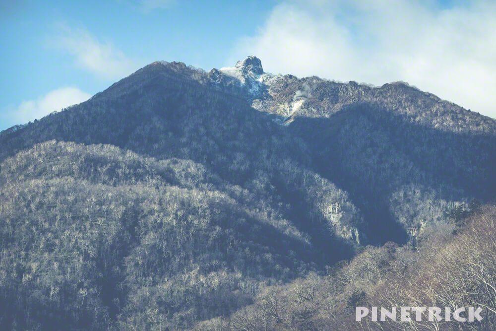 恵庭岳 登山 降雪 雪 11月 山頂
