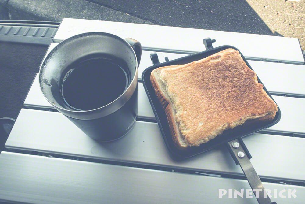 コーヒー ホットサンド キャンプ飯 キャプテンスタッグ UG-3005  M-3713 テーブル