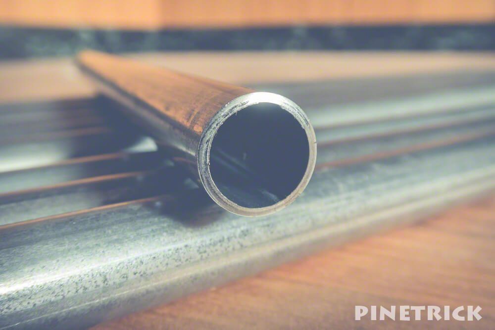 パイプカット 単管パイプ 薪棚