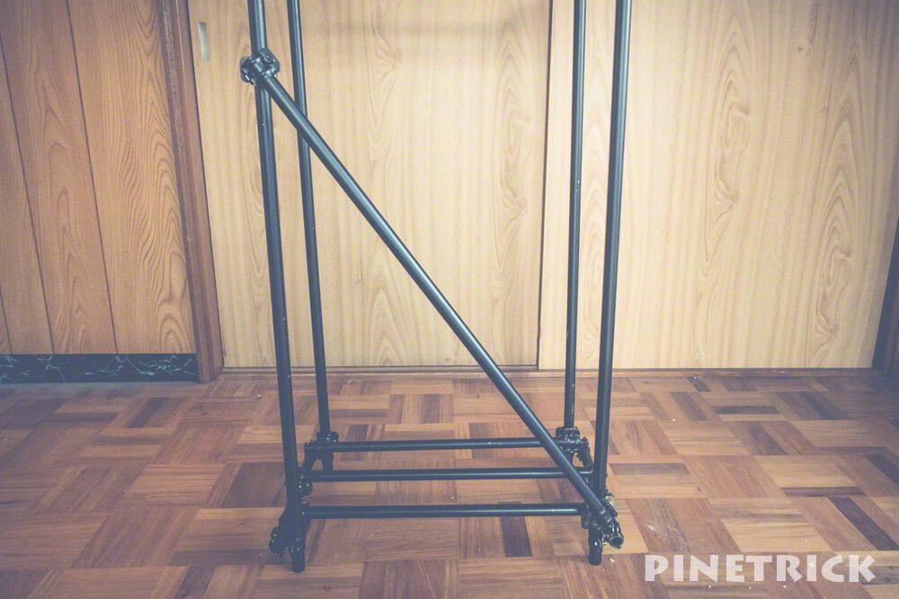 diy 単管パイプ クランプ 薪棚 19.1mm