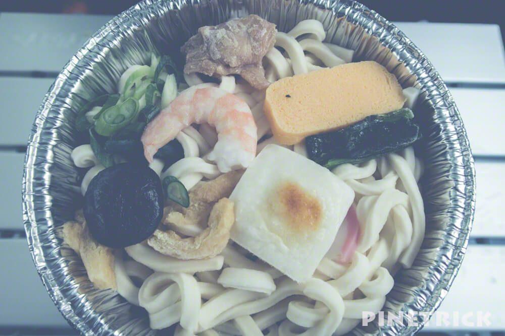 セブンイレブン 鍋焼うどん 関西風 アウトドア 車中泊 キャンプ飯